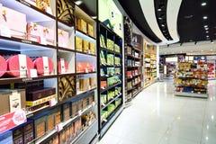 Wnętrze Bezcłowy Dubaj Obrazy Royalty Free