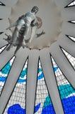 Wnętrze Brasilia katedra fotografia stock