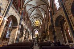 Wnętrze Bremer Dom Katedralni Zdjęcia Stock