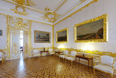 Wnętrze Catherine Pałac Obrazy Stock