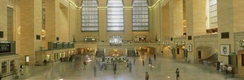 Wnętrze Centrali Uroczysta Stacja, Nowy Jork, NY zdjęcia royalty free