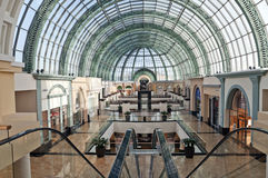 Wnętrze centrum handlowe emiraty Zdjęcie Stock