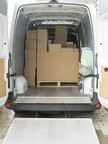 Wnętrze ciężarówka obrazy royalty free