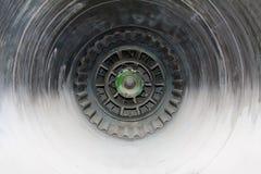 Wnętrze dżetowy silnik Fotografia Royalty Free