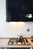 Wnętrze, domowa kuchnia Zdjęcie Royalty Free