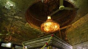 Wnętrze dziejowy Indiański budynek zbiory
