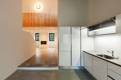 Wnętrze dom, kuchnia Zdjęcia Stock