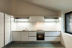 Wnętrze dom, kuchnia fotografia royalty free