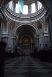 Wnętrze Esztergom bazylika, Esztergon, Węgry - 8, 2017 Obraz Stock