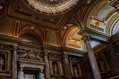 Wnętrze FitzWilliam muzeum dla dawność i sztuk piękna przy Cambridge Obraz Stock