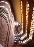Wnętrze, Frank Lloyd Wright budynku Wingspread, Racine Wisconsin zdjęcia royalty free