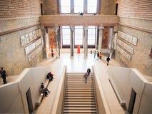 Wnętrze główna sala w Neues muzeum w Berlin obraz royalty free