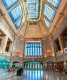 Wnętrze Gare Du Palais dziejowy dworzec w Quebec mieście, Kanada Zdjęcia Royalty Free