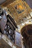 Wnętrze genua katedralny kościół - katedra święty Lawrance Zdjęcie Royalty Free