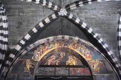 Wnętrze genua katedralny kościół - katedra święty Lawrance Fotografia Royalty Free