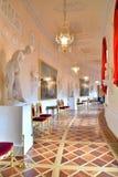 Wnętrze Grecka sala w Gatchina pałac Obrazy Stock