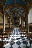 Wnętrze grodowy kościół Stary kasztel Zdjęcie Royalty Free
