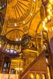 Wnętrze Hagia Sophia muzeum zdjęcie stock