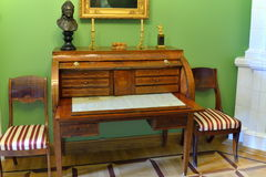 Wnętrze i wnętrze muzeum Pyotr Abram Obraz Royalty Free