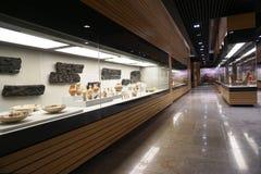Wnętrze jeden powystawowe sala Krajowa muza obrazy stock