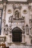 Wnętrze katedra Cuenca, kaplica Muñoz, zakładał obok Fotografia Royalty Free