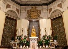 Wnętrze katedra Otranto zdjęcia stock