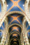 Wnętrze katedralny San Lorenzo przy albumami na Podgórskim obraz stock