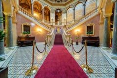 Wnętrze klasyczny budynek obrazy royalty free