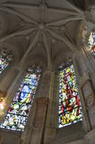 Wnętrze kościół Fotografia Royalty Free