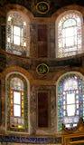 Wnętrze kościół chrześcijańskiego muzeum Ai Sofia w Istanbuł Fotografia Stock