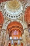 Wnętrze Kościół Rzymsko-Katolicki Fotografia Stock