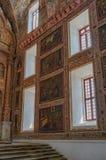 Wnętrze kościół rzymsko-katolicki w Starym Goa obrazy stock