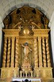 Wnętrze kościół St Francis Assisi, Stary Goa zdjęcia stock