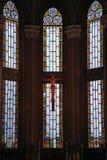 Wnętrze kościół StAnthony Padua Obraz Stock