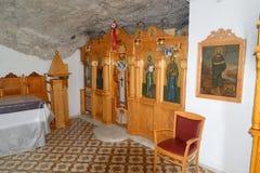 Wnętrze Kościelny Ekklisia Agia Paraskevi Obraz Stock