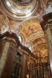 wnętrze kościoła Fotografia Royalty Free