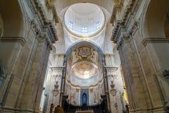 wnętrze kościoła Katedra Santa Agatha - duomo w Catania Obraz Royalty Free
