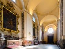 wnętrze kościoła Katedra Santa Agatha - duomo w Catania Zdjęcie Royalty Free