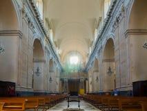 wnętrze kościoła Katedra Santa Agatha - duomo w Catania Fotografia Stock