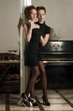 wnętrze kobiety luksusowa dwa obraz stock