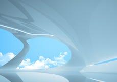 wnętrze konceptualny przyszłościowy styl Zdjęcia Stock