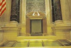 Wnętrze Krajowi archiwa, Waszyngton, d C zdjęcia royalty free