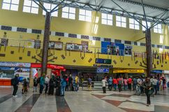 Wnętrze Langkawi lotnisko fotografia royalty free
