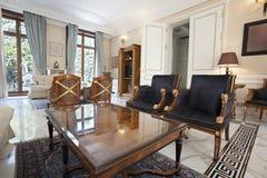 Wnętrze luksusowa willa zdjęcie royalty free