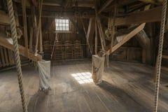 Wnętrze młyński Bataaf w Winterswijk Obrazy Stock