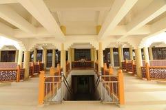 Wnętrze Masjid Jubel Perak sułtanu Ismail Petra a K A Masjid Pekin obraz stock
