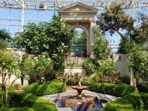 Wnętrze Missouri ogród botaniczny, ST Louis MO obraz stock