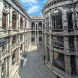 Wnętrze Museo Nacional De Arte MUNAL w Meksyk fotografia stock