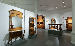 Wnętrze muzeum katalończyk Modernisme w Barcelona fotografia royalty free