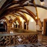Wnętrze Neues Rathaus w Munchen fotografia royalty free